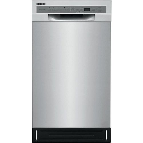 18-inch Front Control Dishwasher in Stainless Steel - ENERGY STAR®