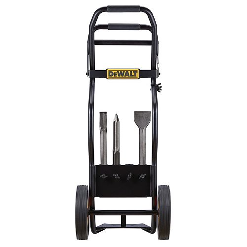 1 1/8-inch Hex Hammer Truck with steel bits