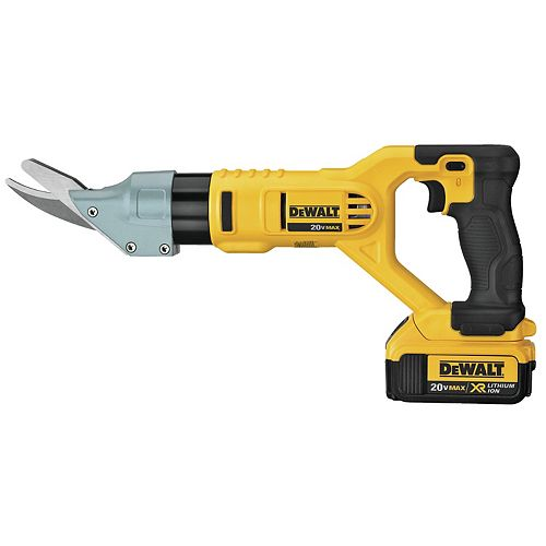 20V MAX VS 5/8-inch Fiber Cement Shear (4.0Ah) with 1 Battery