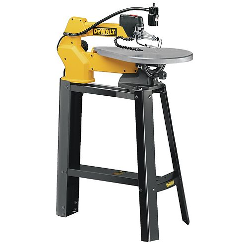 20-inch Scroll Saw with Stand and Lamp