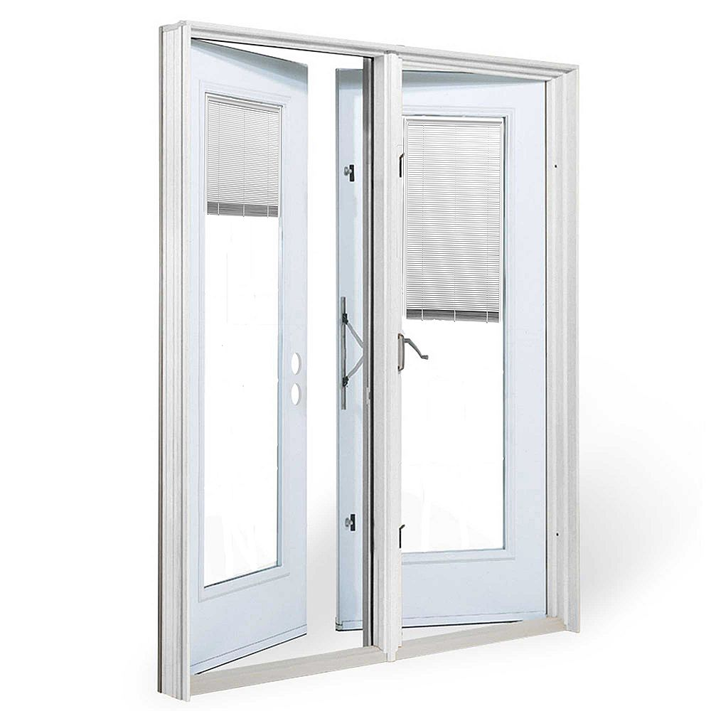 JELD-WEN Windows & Doors 5 ft. Garden Door RH Outswing wi