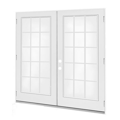 5 ft. French Door RH Outswing wi
