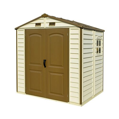 StoreAll 8 ft. W x 5.5 ft. D Fire Retardant Vinyl Resin Shed