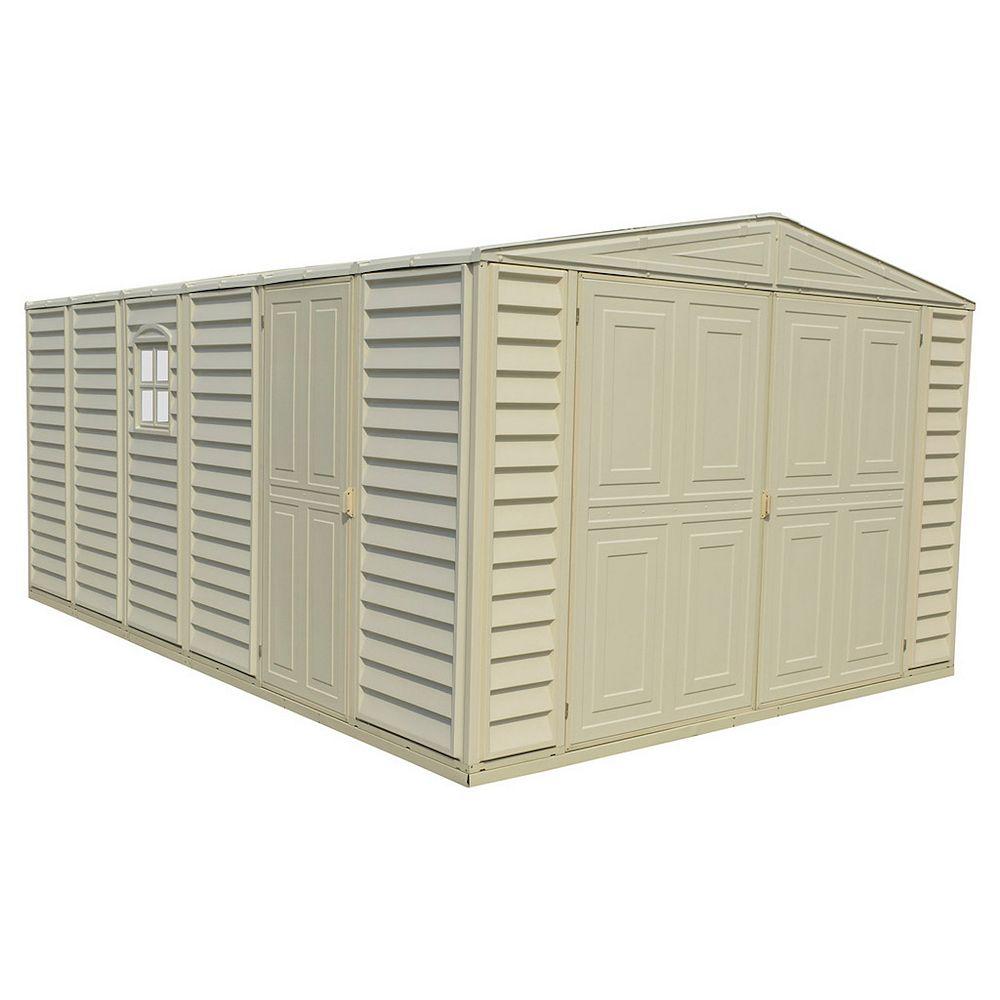 Duramax Garage Woodbridge, 10,5 pi x 15,5 pi, résine de vinyle ignifuge