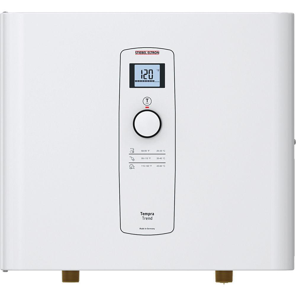 Stiebel Eltron Tempra 12 Trend Self-Modulating 12 kW 2.34 GPM Electric Tankless Water Heater
