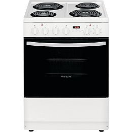 24-inch 1.9 cu. ft. Freestanding Electric Coil Range in White