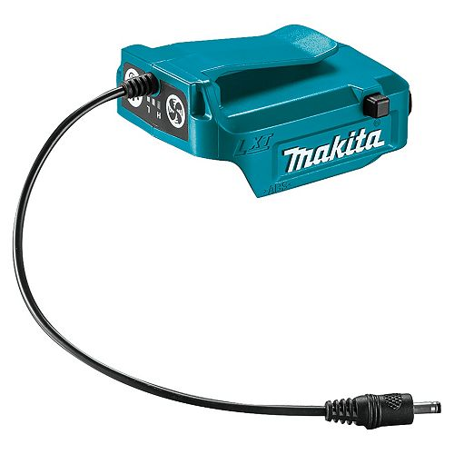 MAKITA 14.4/18V Lxt Battery Adapter For Fan Jacket With Usb Port