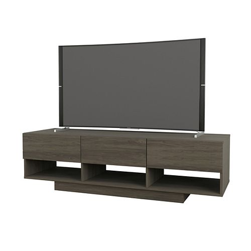 Rustik 60-inch TV Stand in Bark Grey