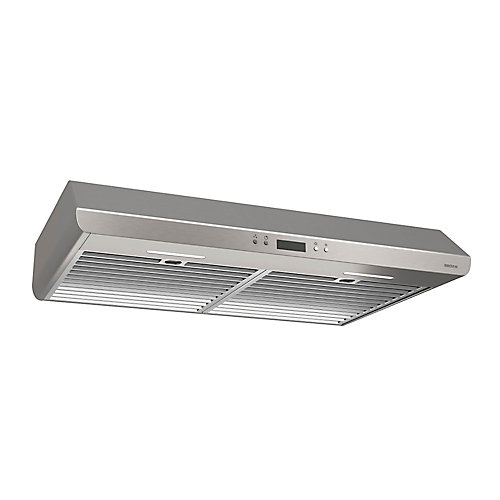 30 inch 400 CFM Under cabinet range hood in stainless steel
