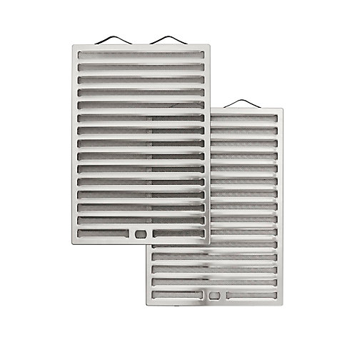 Hybrid baffle filters for Broan and Nutone 24 inch range hood