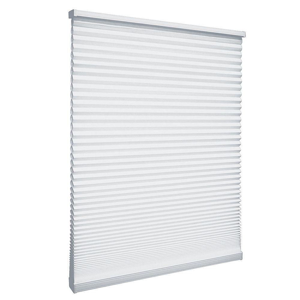 Home Decorators Collection 38 po x 48 po, Stores Cellulaires Filtre de Lumière Sans Fil Blanc Snow Drift