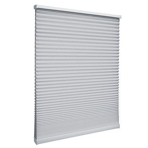 Cordless Light Filtering Cellular Shade Silver 30-inch x 64-inch