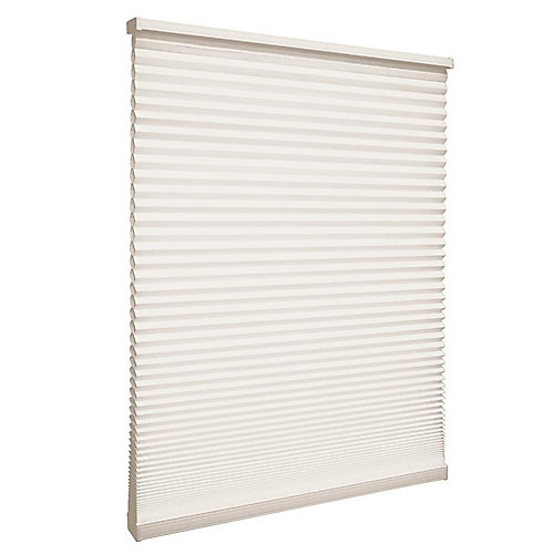 Cordless Light Filtering Cellular Shade Natural 12.25-inch x 48-inch