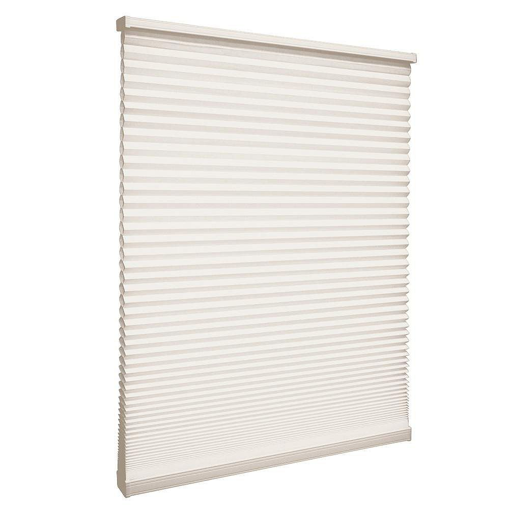 Home Decorators Collection 13-inch W x 72-inch L, Light Filtering Cordless Cellular Shade in Natural Beige