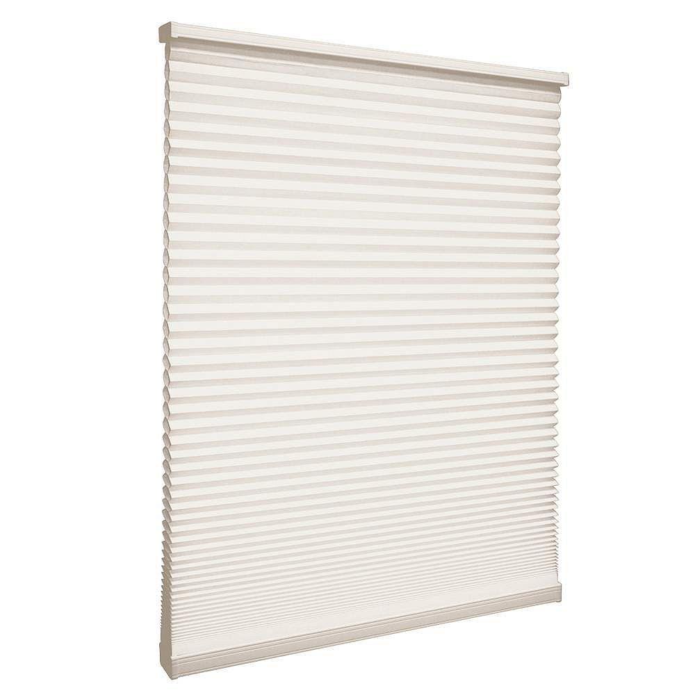 Home Decorators Collection Store alvéolaire filtrant la lumière sans cordon Naturel 123.8cm x 182.9cm