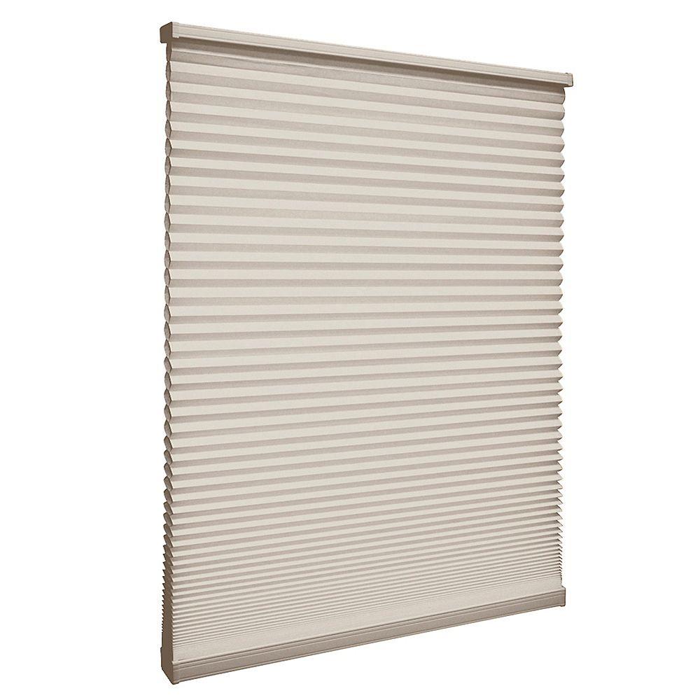 Home Decorators Collection Store alvéolaire filtrant la lumière sans cordon Muscade 138.4cm x 182.9cm