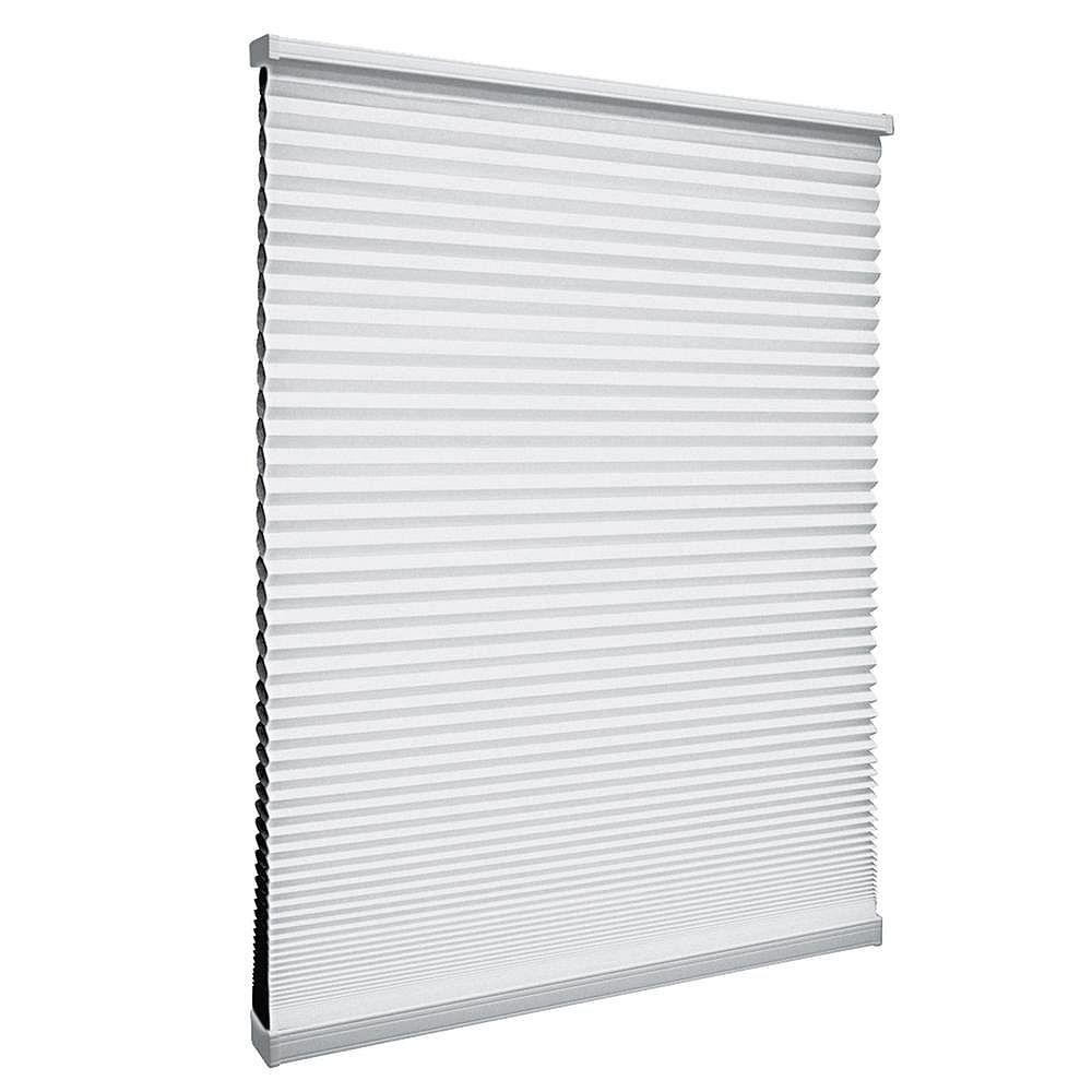 Home Decorators Collection 59,5 po x 64 po, Stores Cellulaires Obscuré Sans Fil Blanc Shadow