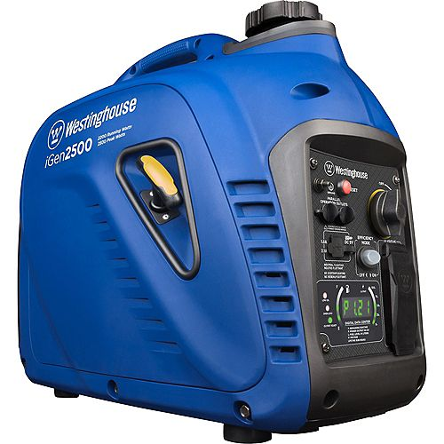 iGen2500 2,500/2,200 Watt Super Quiet Gas Powered Inverter Generator with LED Display