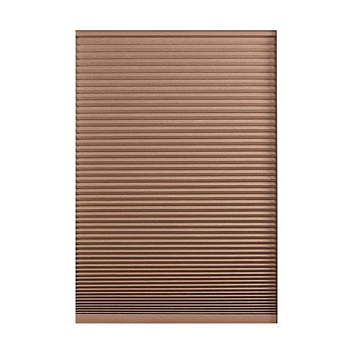 Home Decorators Collection Cordless Blackout Cellular Shade Dark Espresso 17.5-inch x 48-inch