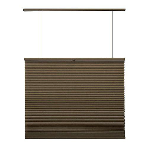 Home Decorators Collection Store alvéolaire ascendant/descendant sans cordon Expresso 61.6cm x 182.9cm
