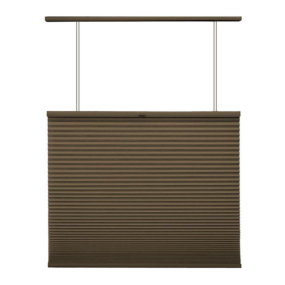 Home Decorators Collection Store alvéolaire ascendant/descendant sans cordon Expresso 109.9cm x 182.9cm