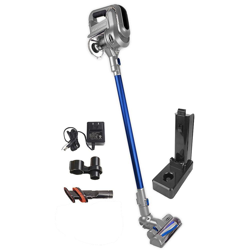 Canavac Aspirateur-balai sans fil Cana-Vac, sans sac, léger, balai motorisé, pile lithium, accessoires
