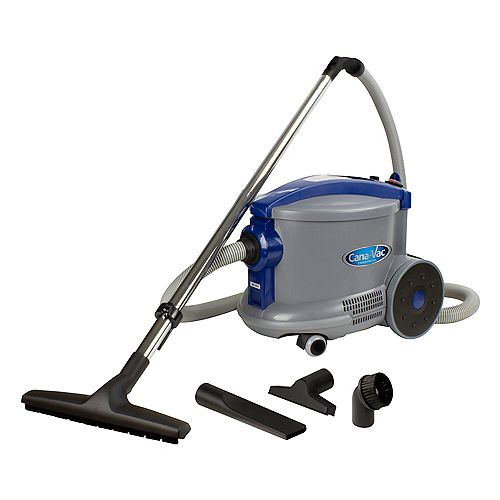 Canavac Commercial Canister Vacuum from Cana-Vac, 3.2 gal (12 L) Tank & Accessories