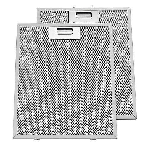 Filtres de rechange en aluminium pour hotte de cheminée VJ70524SS