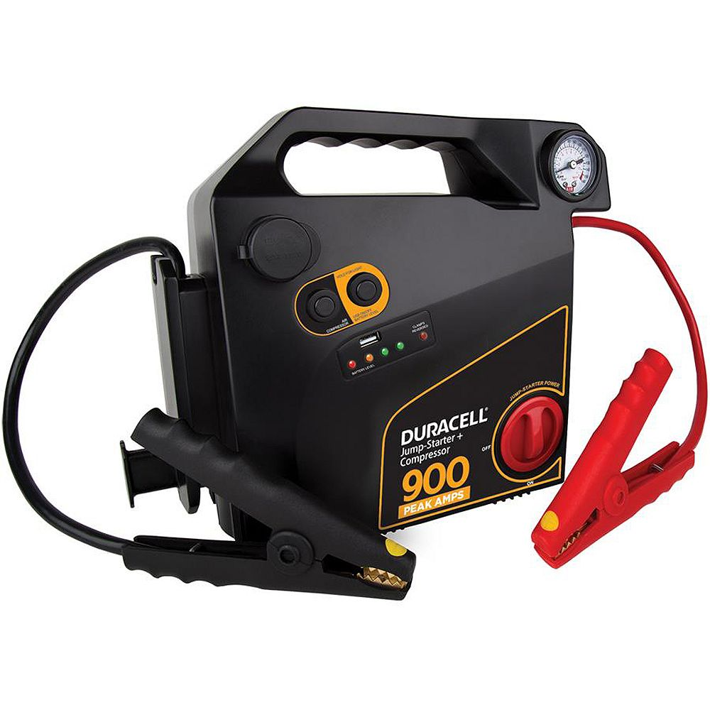 Duracell Jump-Starter + Compressor 900 AMP