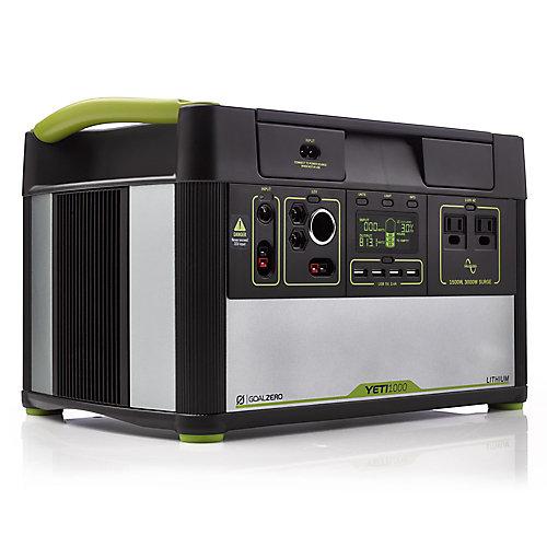 Lithium 1000 Centrale Électrique Portable