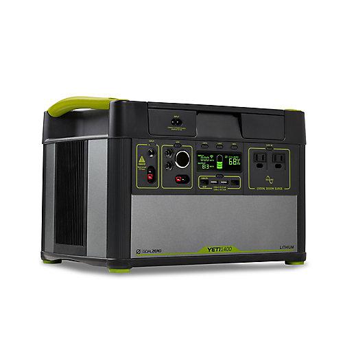 Lithium 1400 Centrale Électrique Portable avec WiFi