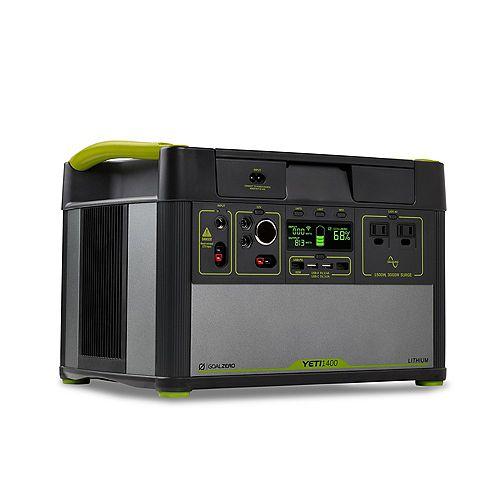 Yeti Lithium 1400 V2 Portable Power Station w/WIFI