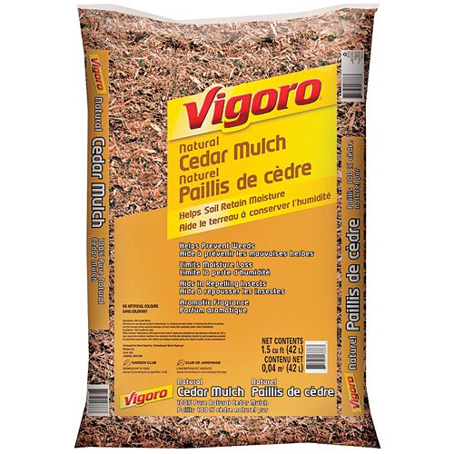 Natural Cedar Mulch 1.5cuft