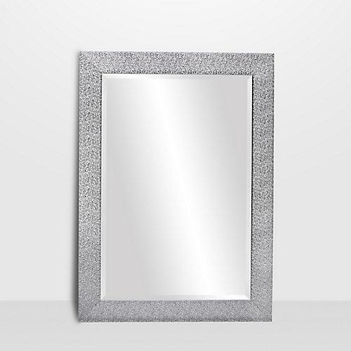 Alessia, Chrome Vanity Mirror 29 inch x 41 inch