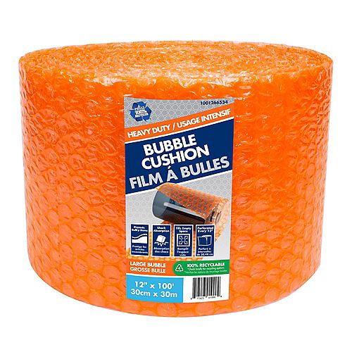 5/16 inch x 12 inch x 100 ft. Large Bubble Wrap