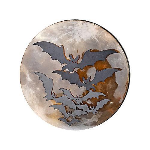 38,1 cm Décoration murale en chauve-souris à DEL avec minuterie