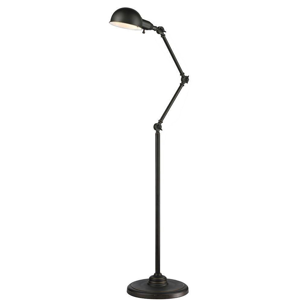 Light Olde Bronze Floor Lamp