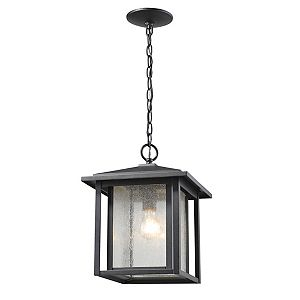 Black Outdoor Hanging Lights