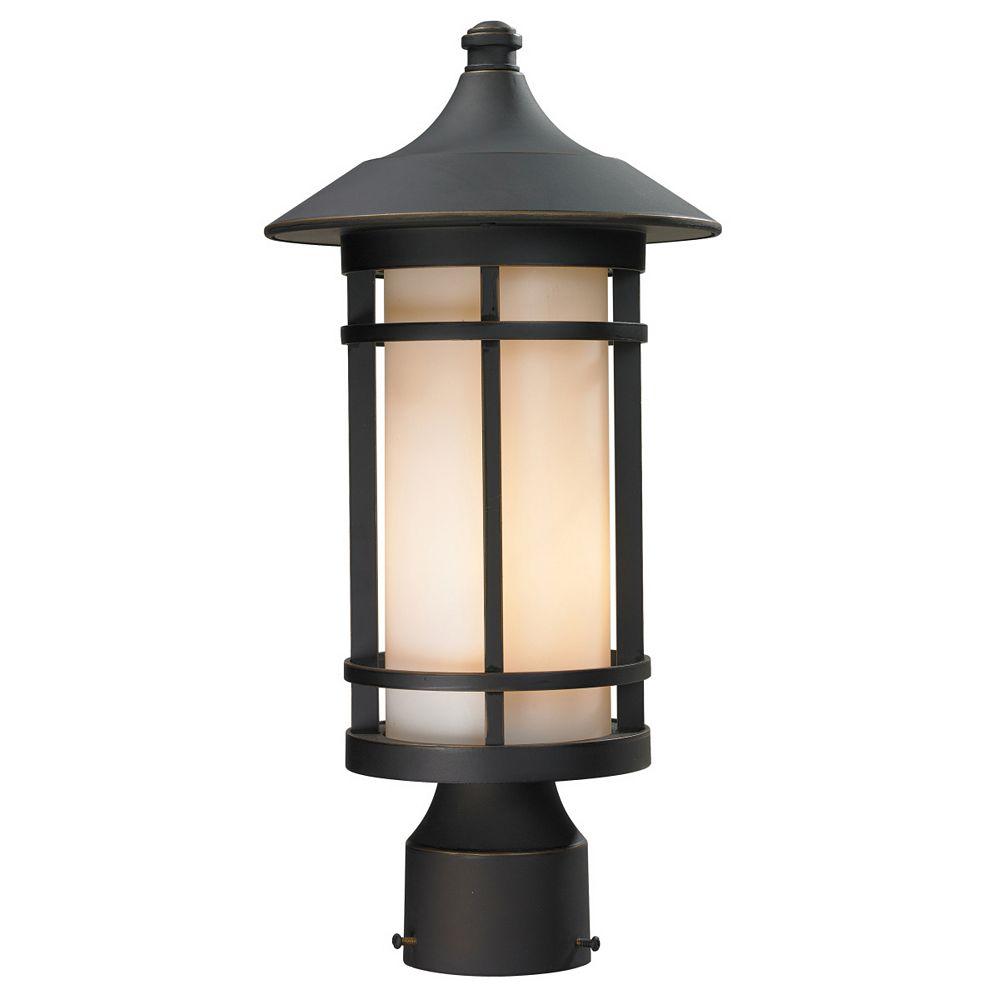 Filament Design Lampadaire extérieur à 1 lampe de style bronze à fini bronze huilé
