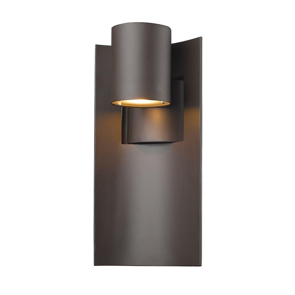 Filament Design 1-Light Deep Bronze Outdoor Wall Sconce - 5.13 inch