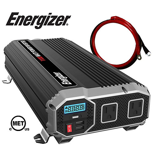 1100 Watt 12V CC à 120V CA Onduleur