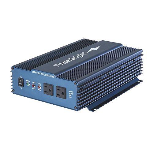 1000 Watt 12V CC à 120V CA Onduleur à onde sinusoïdale pure