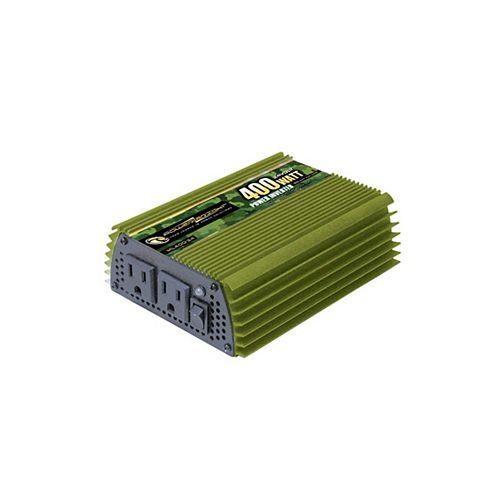 400 Watt 24V DC to 120V AC Power Inverter