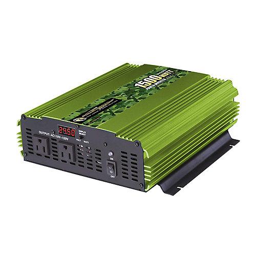 1500 Watt 24V CC à 120V CA Onduleur