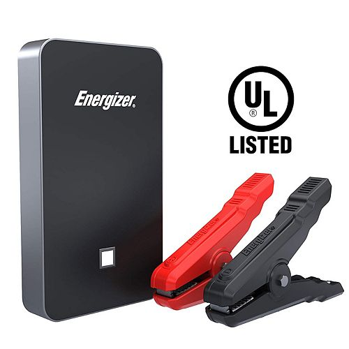 7500mAh UL listed lithium jump starter and 2.4A power bank (BLACK)