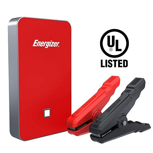 7500mAh UL listed lithium jump starter and 2.4A power bank (RED)