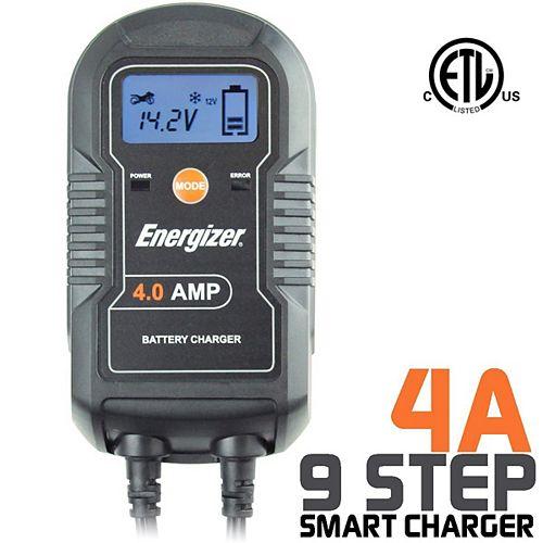Battery Charger 6V / 12V batteries - 4A