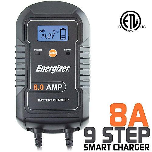 Chargeur de batterie 6V / 12V -  8A