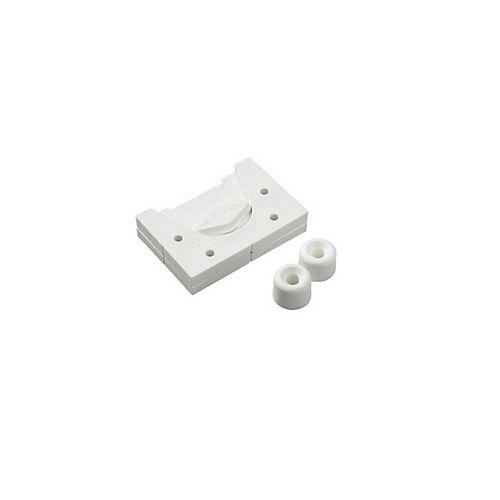 Wedge Hanger - Universal Fastener, White, 55lb