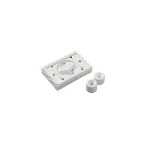 Swivel Hanger - Universal Locking Fastener, White, 55lb